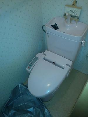 lixil シャワートイレ cw-ka21 取替え工事