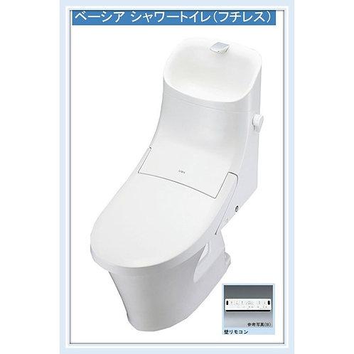 LIXIL (INAX)ベーシア(フチレス)シャワートイレ一体型B1レバー洗浄 手洗付 カラーホワイト限定