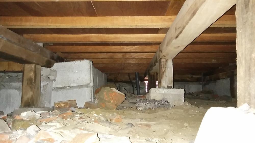 大阪市 キッチン改装 事前調査 配管漏水 床下
