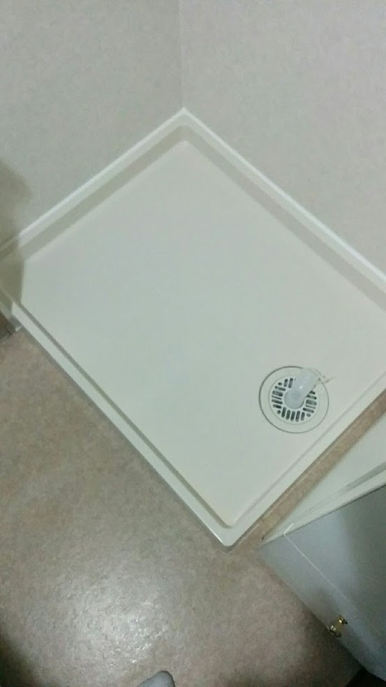 大阪市 洗濯防水パン取替工事 仕上げ
