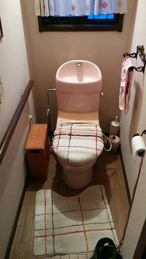 加古川市 N様邸 トイレ改装工事 洗面所シャワーホース交換