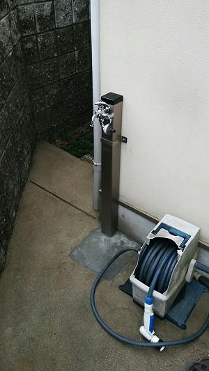 施工後 安い 配管 修理 増設 散水栓