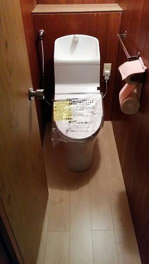 2fトイレ 施工後 仕上がり