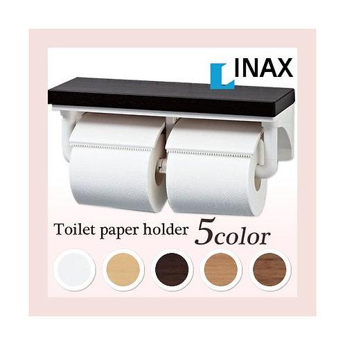 ペーパーホルダー CF-AA64KU INAX/イナックス/LIXIL/リクシル 棚付二連紙巻器 インテリアリモコン対応
