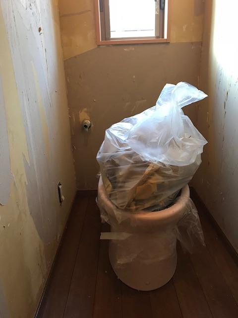 堺市O様邸 1F トイレ改装工事 施工前