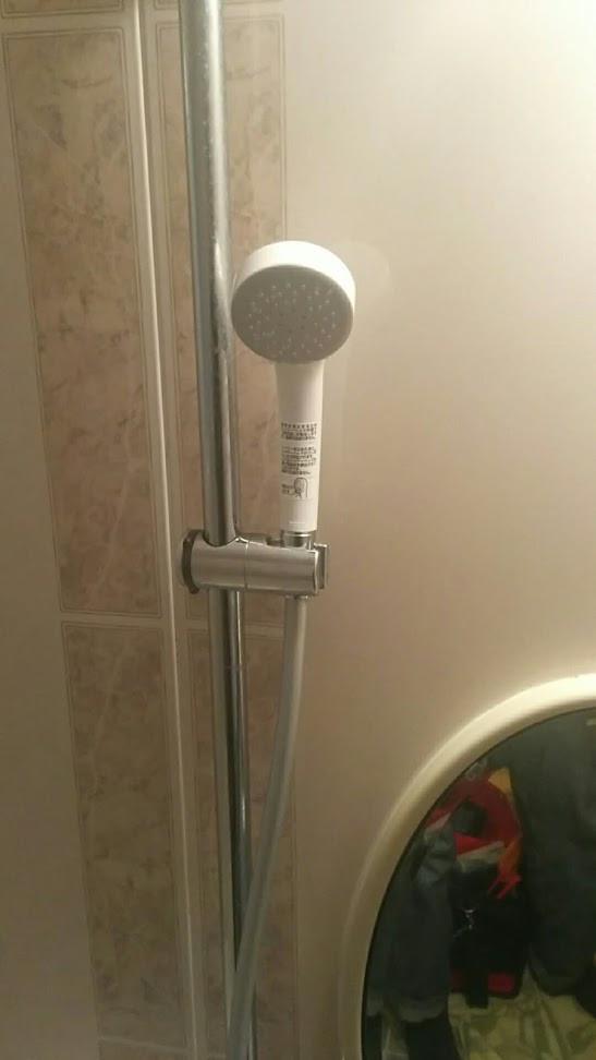 浴室サーモスタットシャワー水栓交換工事 シャワー部