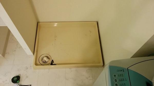 洗濯防水パンの取替え工事800*640