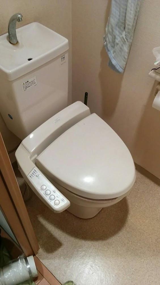 大阪市 F様邸 トイレ改装工事 施工前