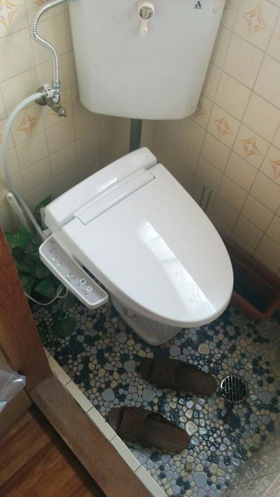 シャワートイレCW-B51 施工完了