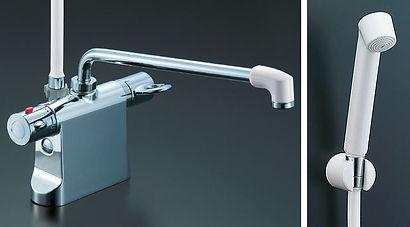 浴室 サーモスタットシャワー水栓 デッキタイプ LIXIL INAX