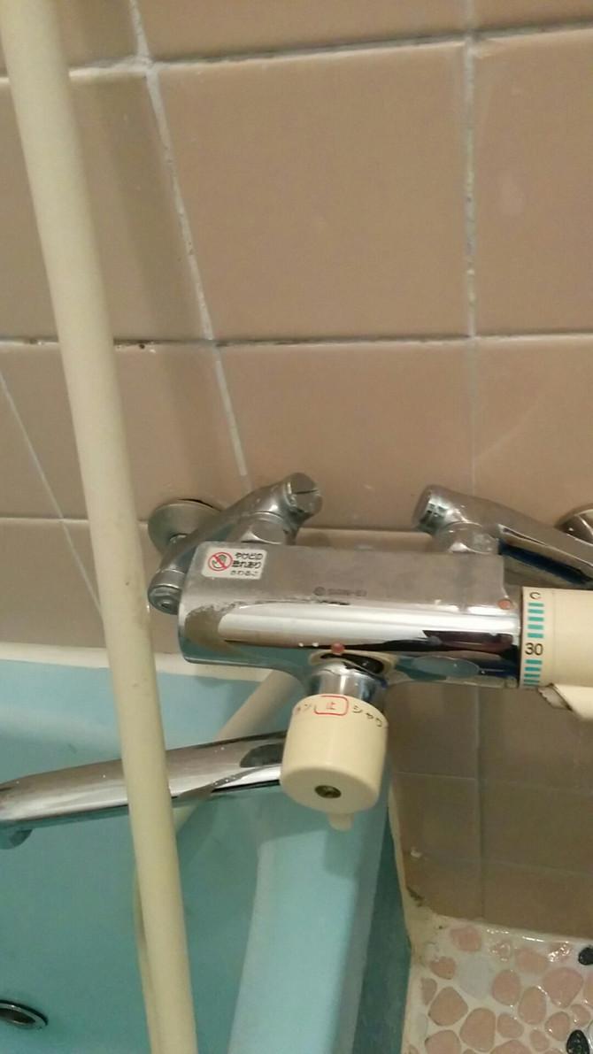 神戸市北区 給湯配管漏水、外部露出配管改修工事