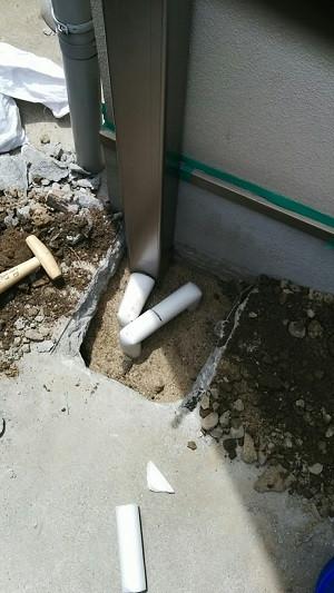 散水栓 水廻りリフォーム 配管保温工事 やり替え 取替