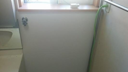 壁紙張替 洗濯水栓取替 仕上がり