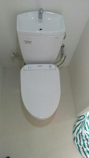 アラウーノV取替、トイレ改装工事