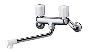 TOTO キッチン 壁付2ハンドル混合水栓