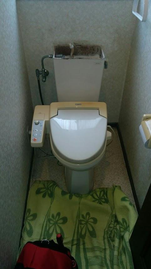 京都市 TOTO HVシリーズ リモデル便器 施工前