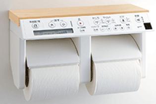 LIXIL INAX インテリアリモコン(シャワートイレオプション)紙巻き器は別売です。