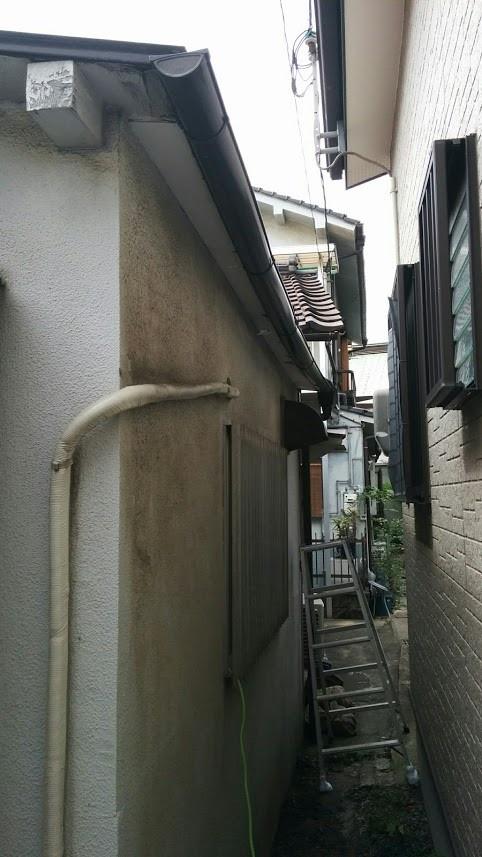 大阪市雨樋改修工事 施工前