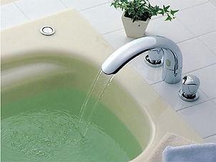 浴室 タイル埋め込み 2ハンドル水栓