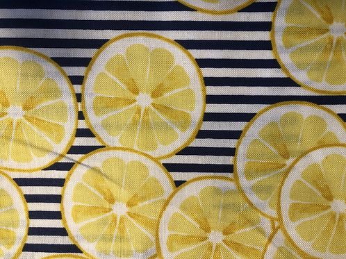 MASK (Lemon Blue Stripe)