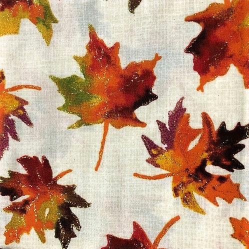 MASK Thanksgiving Fall Golden Leaves