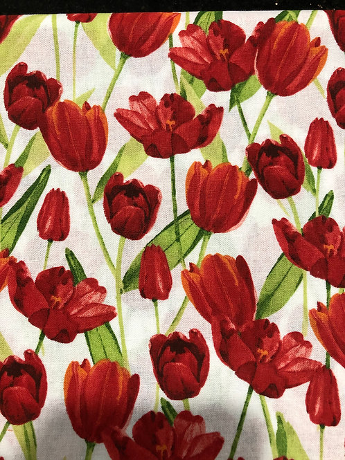 MASK (Red Tulips)