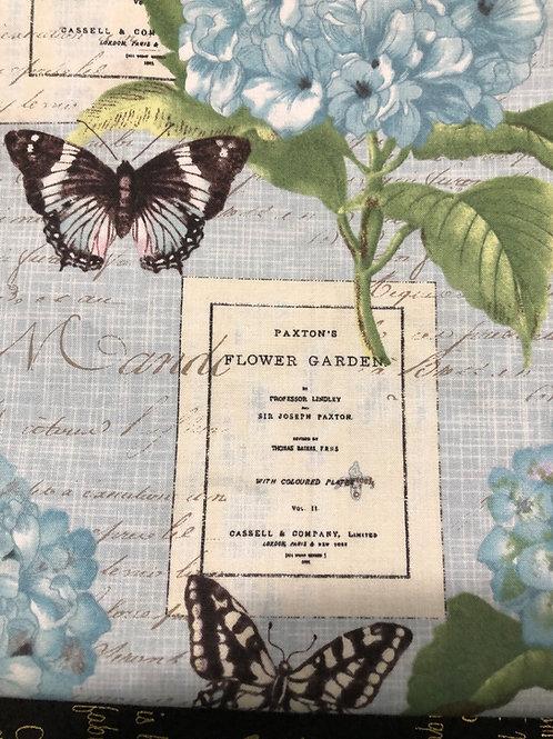 MASK (Butterflies & Hydrangea)