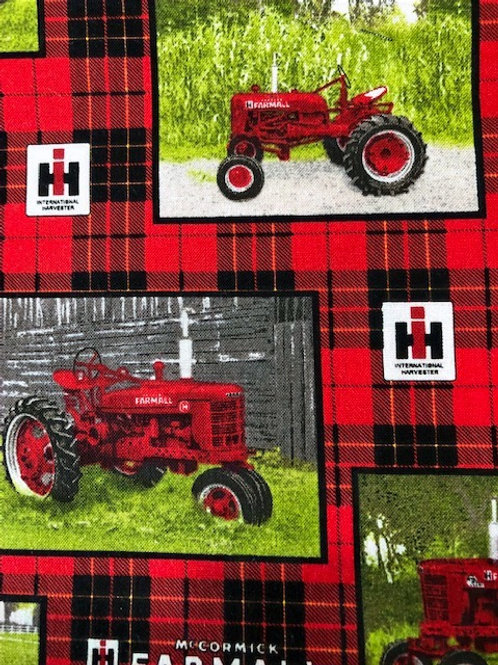 MASK (Red Tractor/Plaid)
