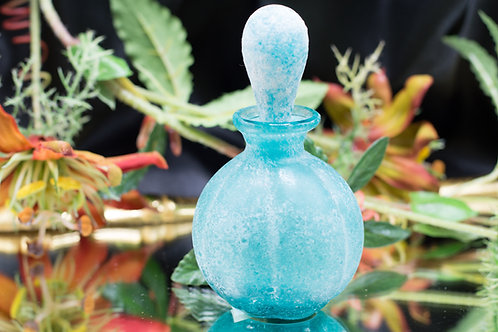 Vintage Perfume Decanter - Aqua