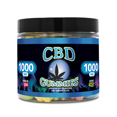 1000mg CBD Gummies