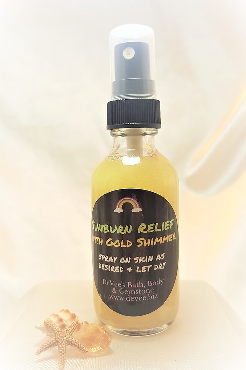 Shimmer Sunburn Relief