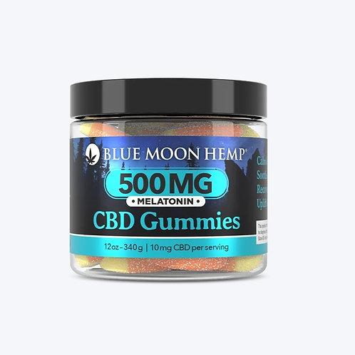 500mg CBD with Melatonin Gummies