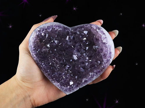 Heart Amethyst