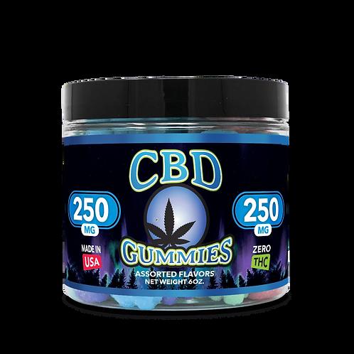 250mg CBD Gummies