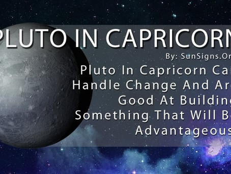 2021 - Pluto Retrograde in Capricorn