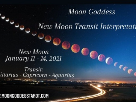Jan. 11, 2021 - New Moon in Capricorn