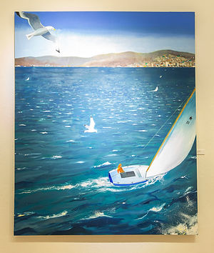 Peter Onstad,  Boats & Gulls