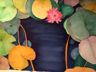 Margaret Pirrouette,  Waterlilies