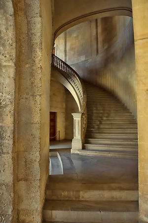 June Ruckman,  Alhambra Staircase
