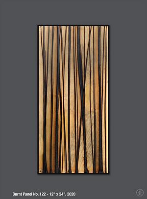 Jonah Ward - Burnt Panel No. 122