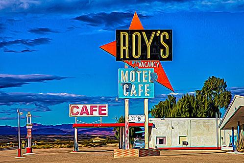 Bruce Haanstra, Roy's at Amboy