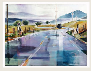 Marjo Wilson, MOUNTAIN TOP RAIN  MOUNTAINTOP RAIN  ( Alder Pt. Road)