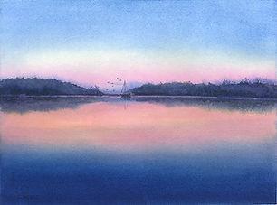 Ann Maglinte, Evening Sail