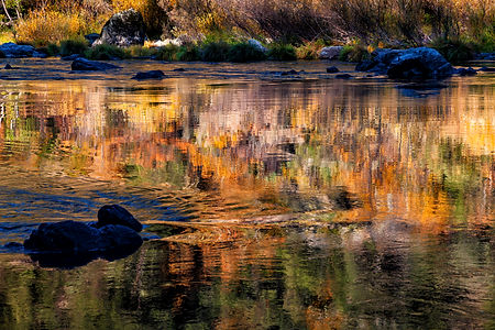 Jerry Albright,  Fall Colors on the Rogue River