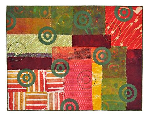 Holly Brackmann Green Circle Collage
