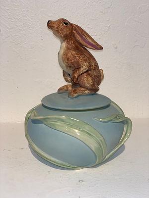 """Bunny. box, 7"""" x  6"""""""