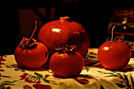 Sandy Strong, Still Life with Tomato