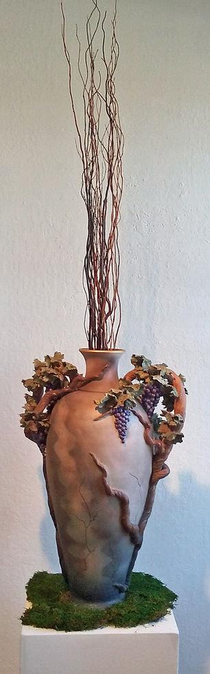 Bonnie Belt, Grape Urn, Mauve
