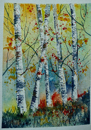 Sandy Strong, Birch Trees
