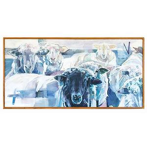 Marjo Wilson,SHEEP in BLUE